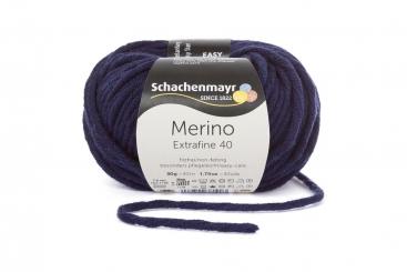 Merino Extrafine 40 Wolle Schachenmayr 00350 marine