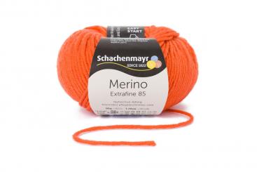 Merino Extrafine 85 Wolle Schachenmayr 00225 orange