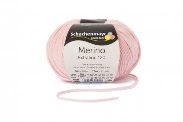 Merino Extrafine 120 Wolle Schachenmayr 00135 puderrosa