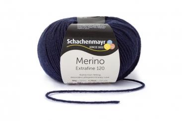 Merino Extrafine 120 Wolle Schachenmayr 00150 marine