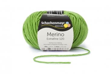 Merino Extrafine 120 Wolle Schachenmayr 00173 apfel