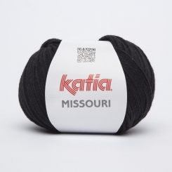 Missouri Wolle von Katia 02 Negro