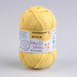 My first Regia Sockenwolle 01022 sonne