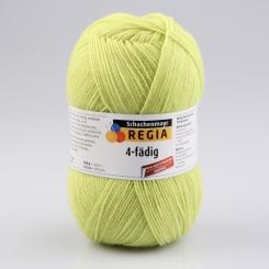 Regia 4-fädig 100g Uni Sockenwolle 06626 lime