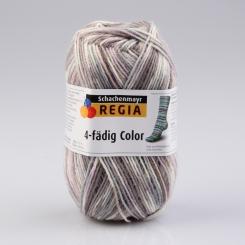 Regia 4-fädig Color Sockenwolle 7200 moewe color
