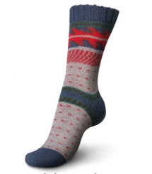 Regia 100g Pairfect Design Line Sockenwolle 09091 jolster color