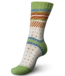 Regia 100g Pairfect Design Line Sockenwolle 09095 kollen color