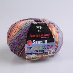 Step 150g 6-fädig Irish Color Sockenwolle Austermann 627 tralee