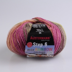Step 150g 6-fädig Irish Color Sockenwolle Austermann 630 kilkeel