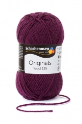 Wool 125 Wolle Schachenmayr 00144 pflaume