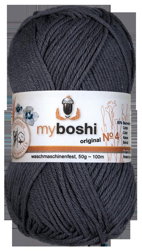 myboshi wolle no 4 494 titangrau online bestellen. Black Bedroom Furniture Sets. Home Design Ideas