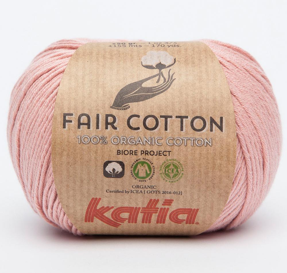 fair cotton organic wolle von katia online bestellen. Black Bedroom Furniture Sets. Home Design Ideas